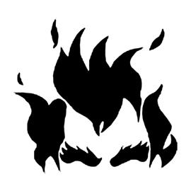 Overwatch – Junkrat Stencil