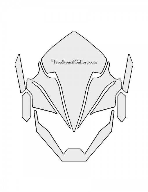 Overwatch - Pharah Stencil