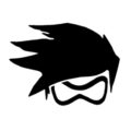 Overwatch - Tracer Stencil