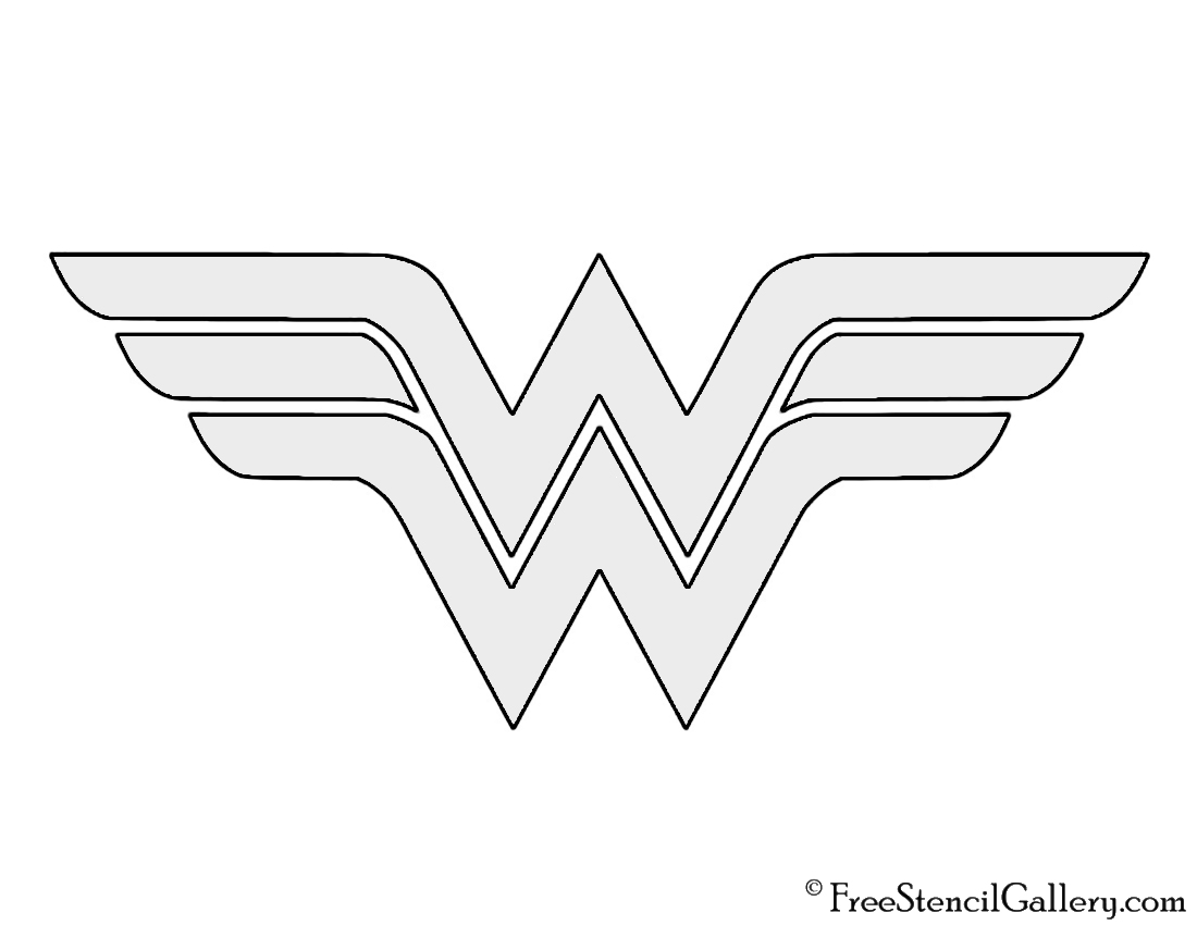 Astounding image inside wonder woman template printable