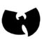 Wu Tang Clan Logo Stencil