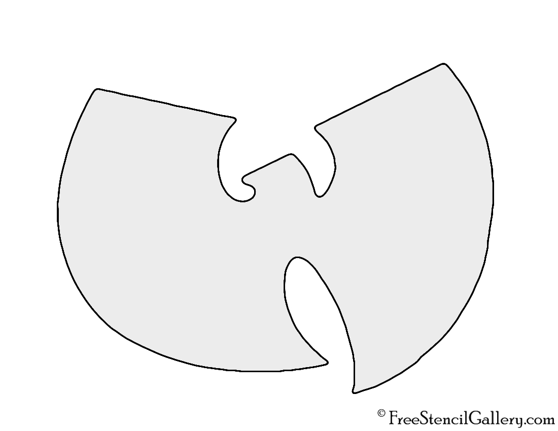 Wu Tang Clan Logo Stencil Free Stencil Gallery