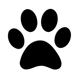 It's just an image of Crafty Dog Paw Print Stencil Printable Free