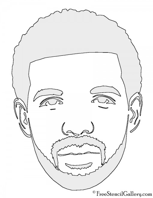 Drake Stencil
