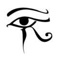 Egyptian Eye of Horus Stencil