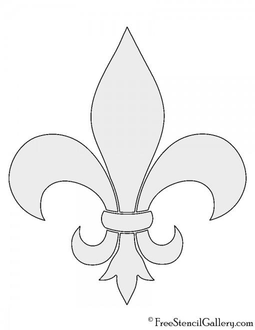 Wild image intended for fleur de lis stencil printable