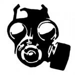 Gas Mask Stencil