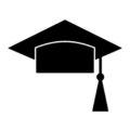 Graduation Cap Stencil