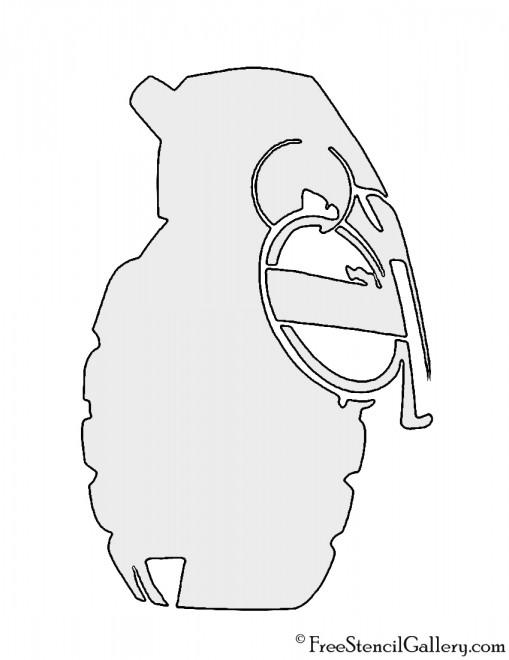 Grenade Stencil