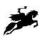 Headless Horseman Stencil