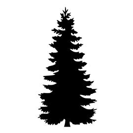 Pine Tree Stencil Free Stencil Gallery