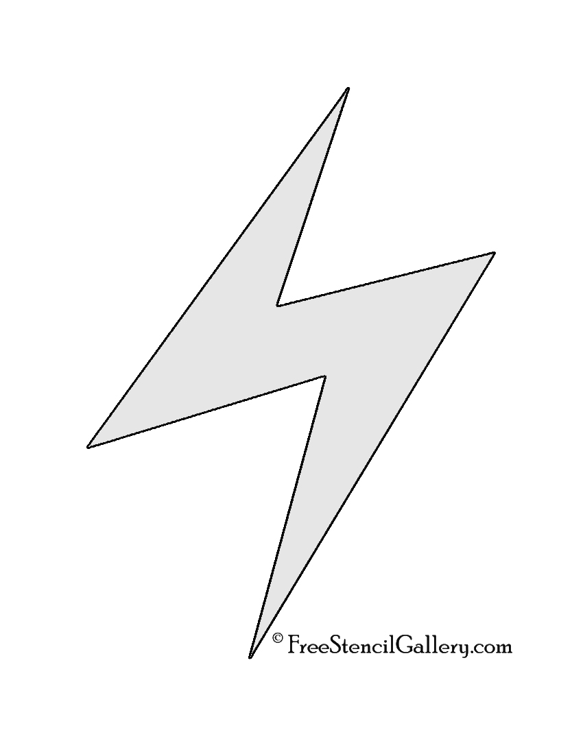 Pokemon Electric Type Symbol Stencil Free Stencil Gallery