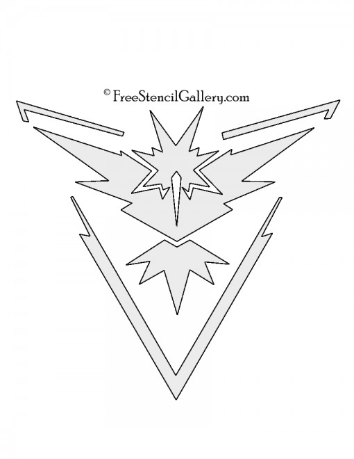 Pokemon Go - Team Instinct Emblem