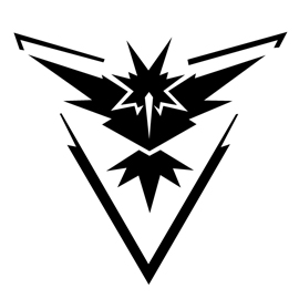 Pokemon Go – Team Instinct Emblem