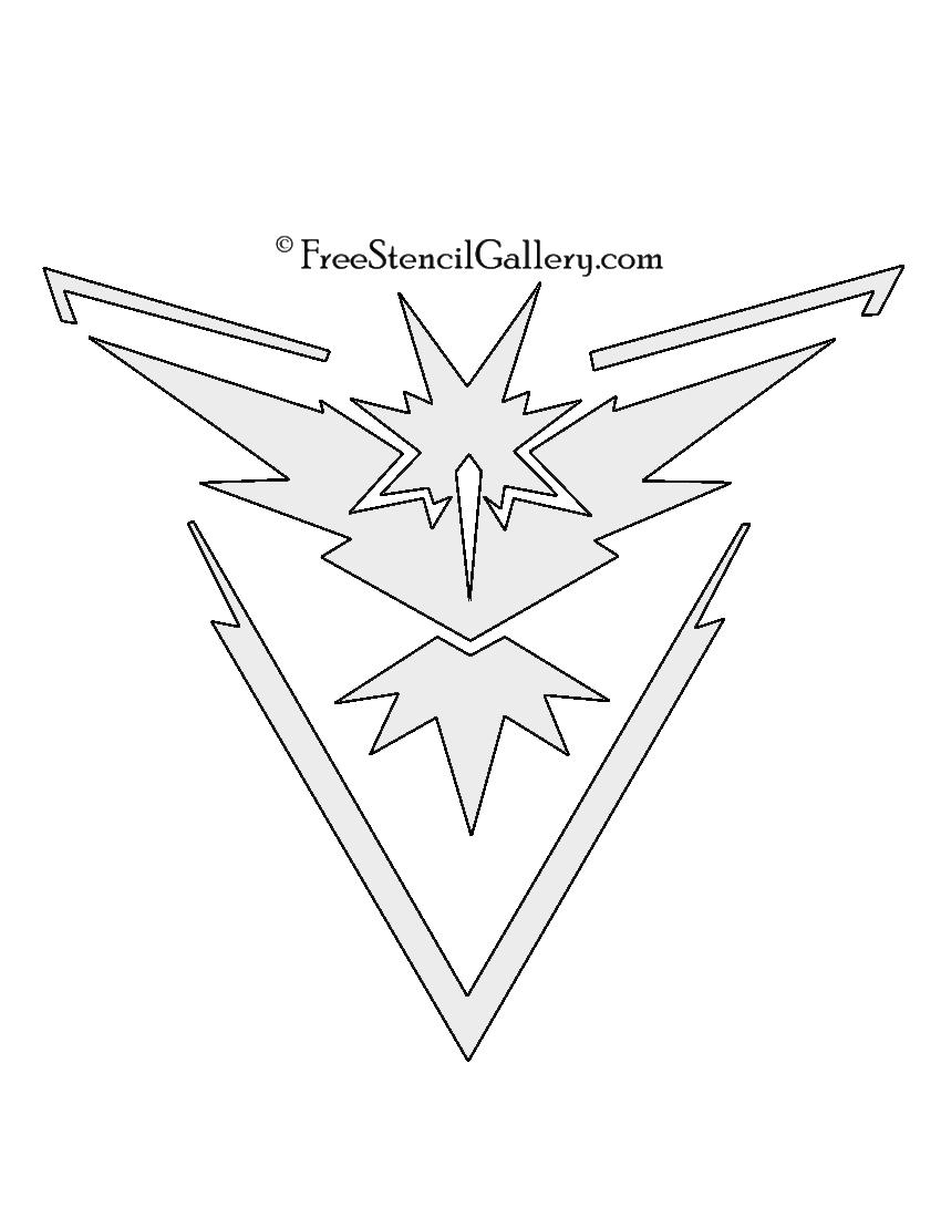 Pokemon Go - Team Instinct Emblem