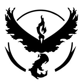 Pokemon Go – Team Valor Emblem