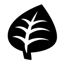 Pokemon – Grass Type Symbol Stencil