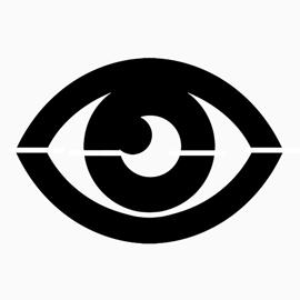 Pokemon – Psychic Type Symbol Stencil
