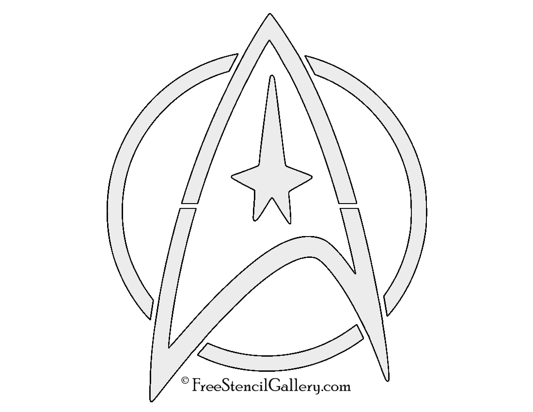 Printable Pumpkin Carving Patterns Star Trek - Worksheet & Coloring ...