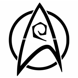 Star Trek – Engineering Insignia Stencil