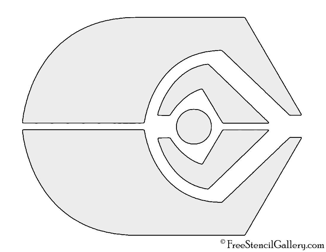 Star Trek - Ferengi Alliance Insignia Stencil