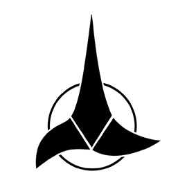 Star Trek – Klingon Insignia Stencil