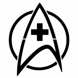 Star Trek – Medical Insignia Stencil
