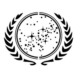 Star Trek - United Federation of Planets Insignia Stencil