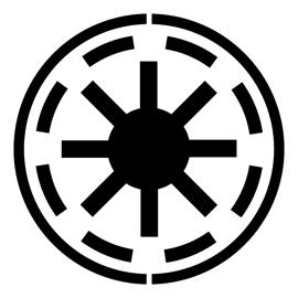 Star Wars – Galactic Republic Symbol Stencil