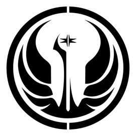 Star Wars - Old Republic Symbol Stencil