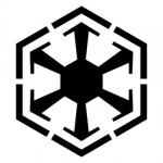 Star Wars - Sith Empire Symbol Stencil