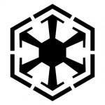 Star Wars - Sith Empire Symbol Stencil