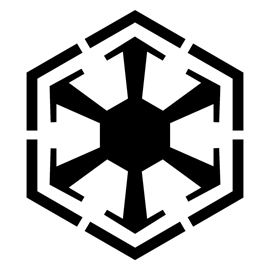 Star Wars – Sith Empire Symbol Stencil