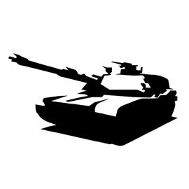 Tank Stencil