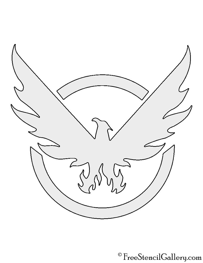 The Division Logo Stencil Free Stencil Gallery