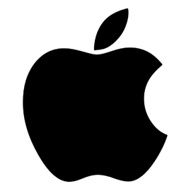 Apple Logo Stencil