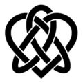 Celtic Knot - Heart Stencil