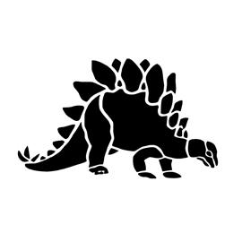 Dinosaur – Stegosaurus Stencil