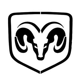Dodge Logo Stencil Free Stencil Gallery