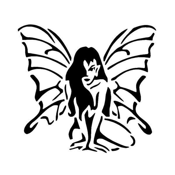 Fairy 01 Stencil