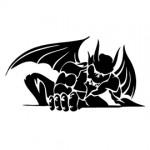 Gargoyle Stencil