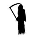 Grim Reaper Stencil