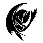 How to Train Your Dragon - Toothless Stencil