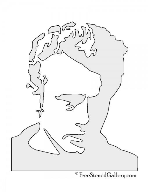 James Dean Stencil