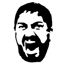 King Leonidas Stencil