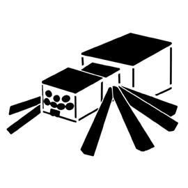 Minecraft – Spider Stencil