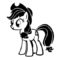 My Little Pony - Applejack Stencil