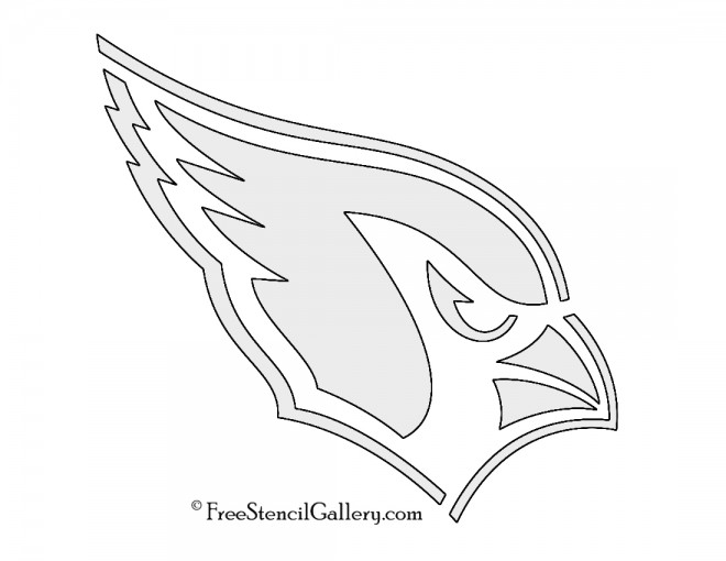 NFL Arizona Cardinals Stencil