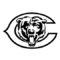 NFL Chicago Bears Stencil