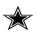 NFL Dallas Cowboys Stencil